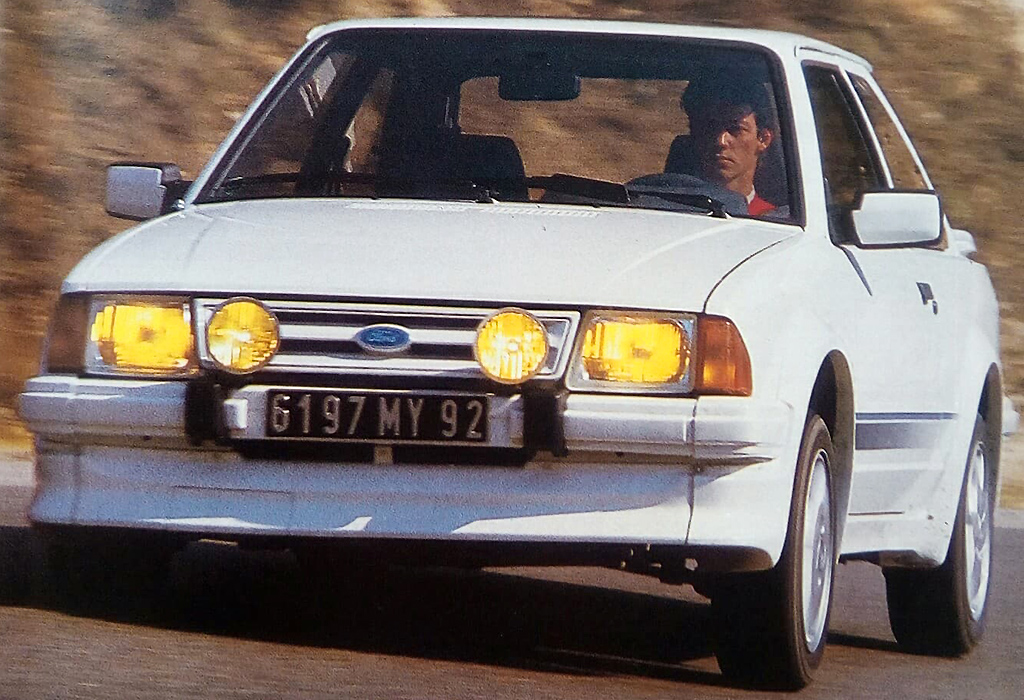 1985 Ford Escort RS Turbo / De AutoGids