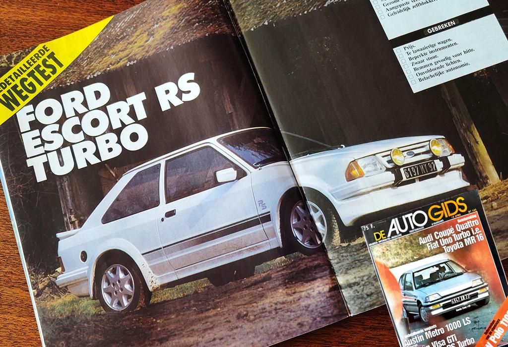 1985 Ford Escort RS Turbo / De AutoGids