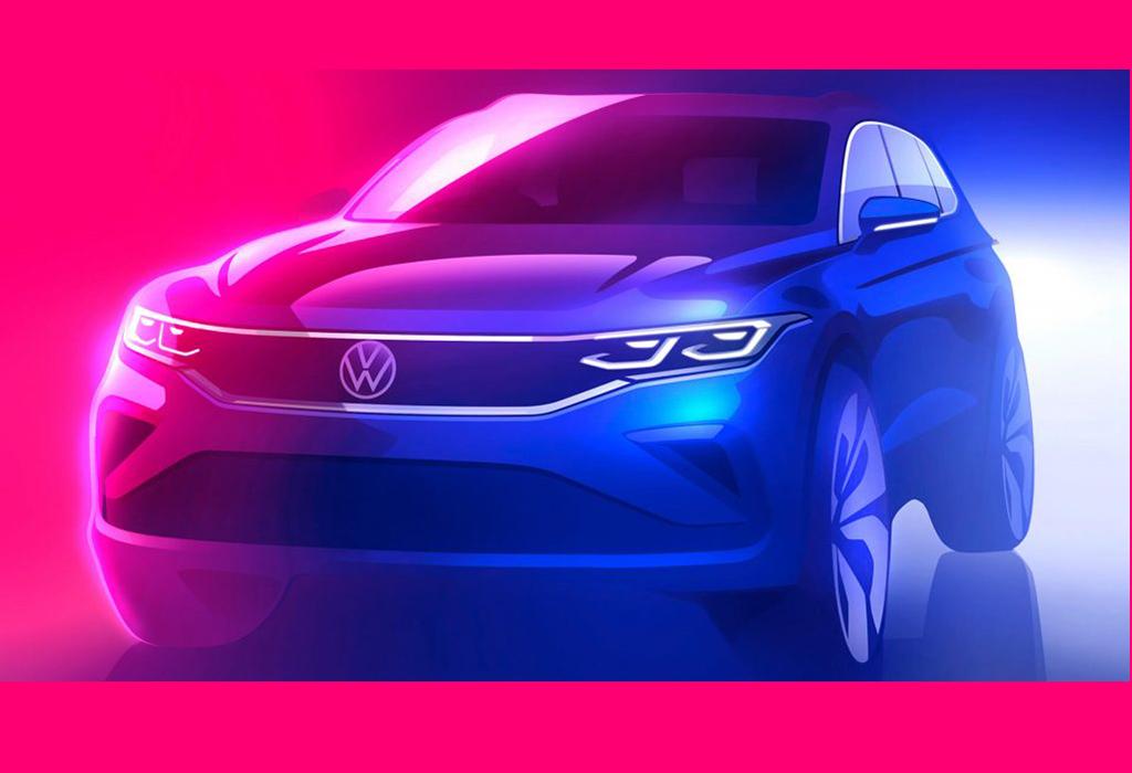 2020 Facelift VW Tiguan ook als GTE en R