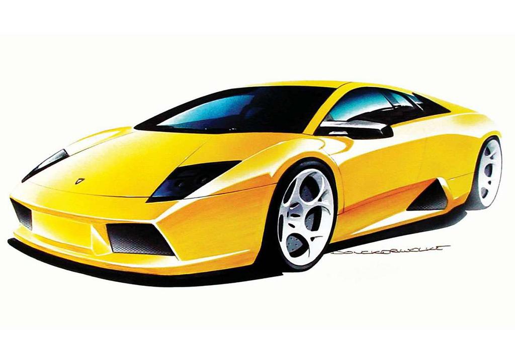Lamborghini Murcielago - design Luc Donckerwolke