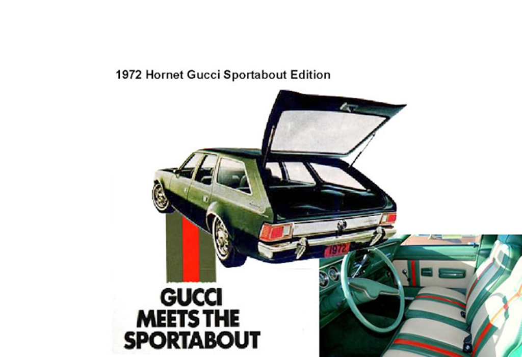 1972 AMC Gucci Hornet Sportabout Edition