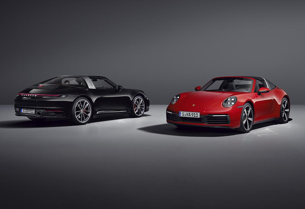 2020 Porsche 911 Targa 4 & Targa 4S