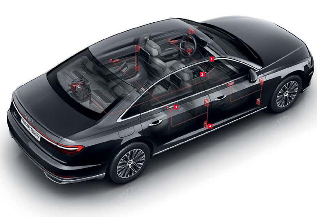 Audi A8 L Pantser