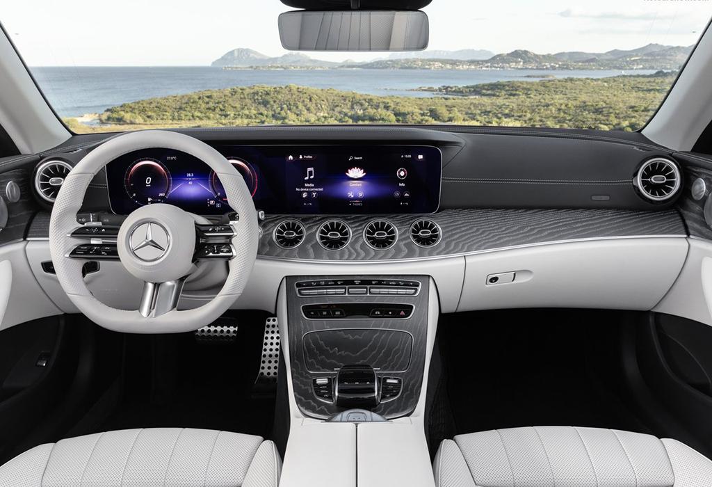 2020 Mercedes E Cabriolet facelift