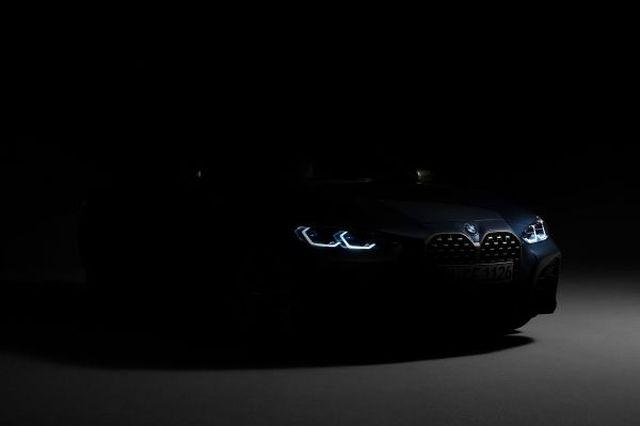 BMW Série 4 Reeks teaser