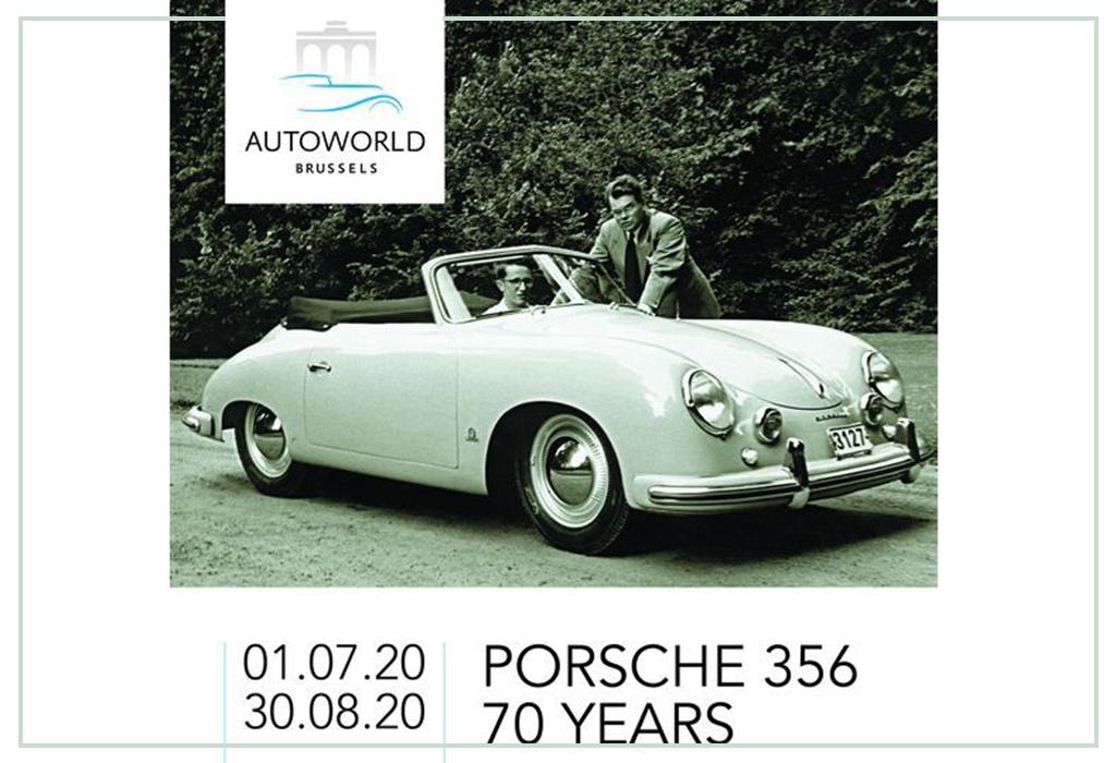 AutoWorld - Exhibition Porsche 356 (Summer 2020)