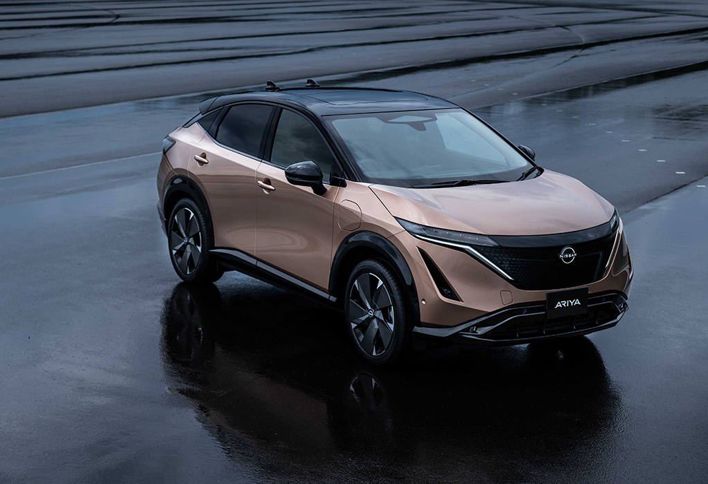 Renault : Nissan lance le SUV électrique Arya