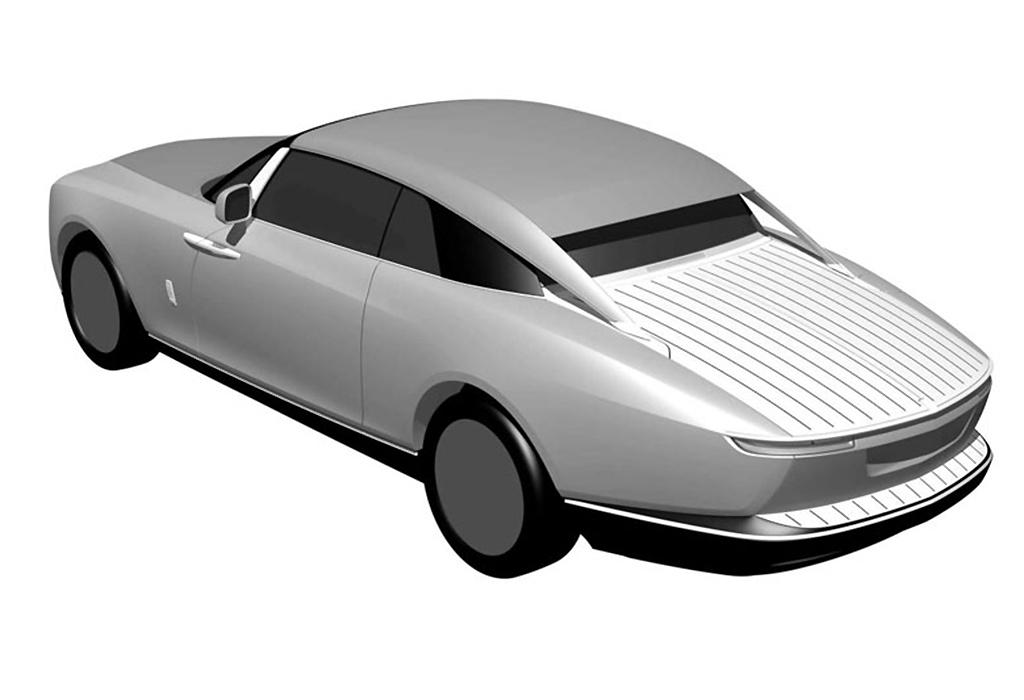 Secret Rolls-Royce reveals design