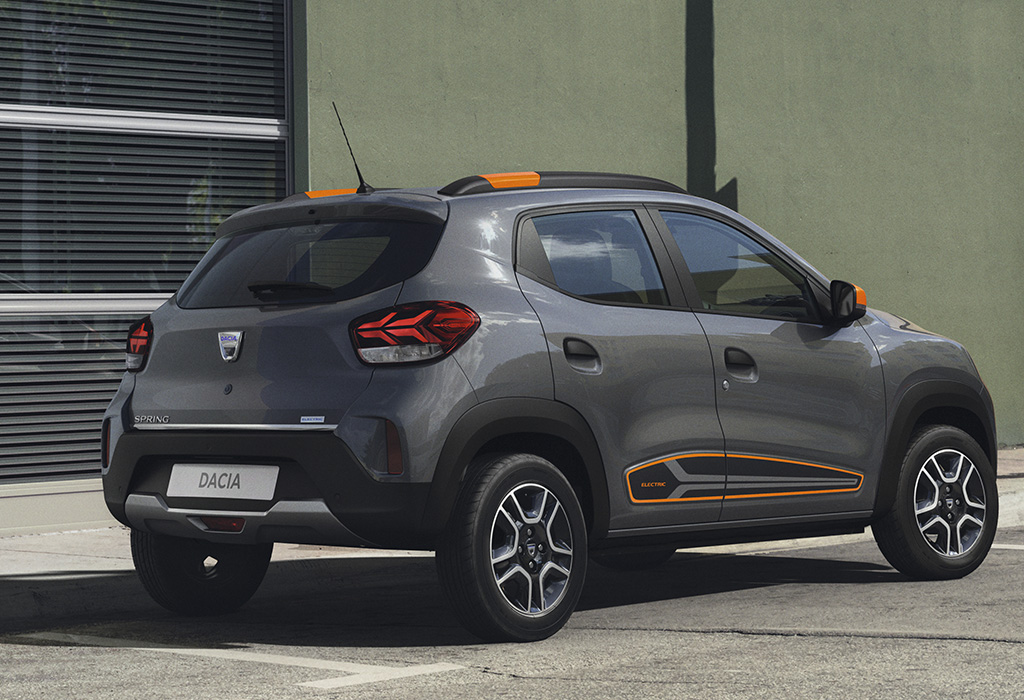 Officieel: Dacia Spring Electric (2020)