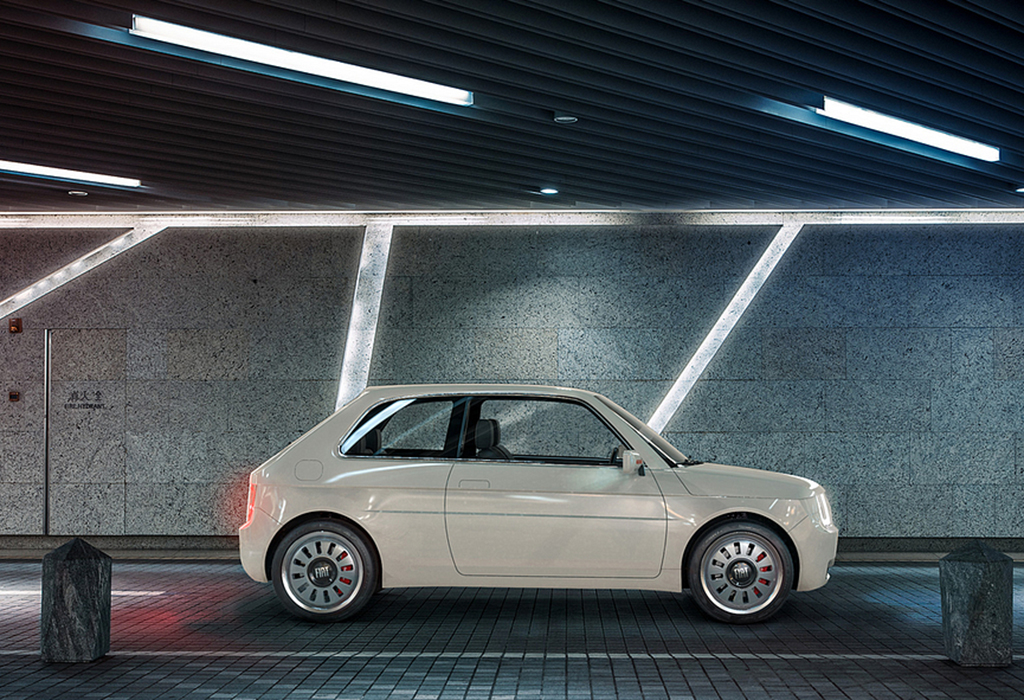 Fiat Vision 126 Electric by MA-DE Studios