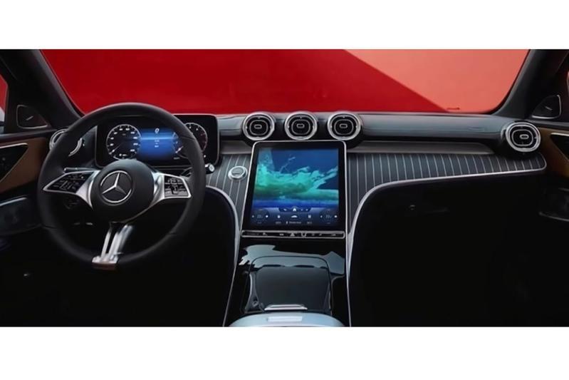 Gelekt: Mercedes C (2021)
