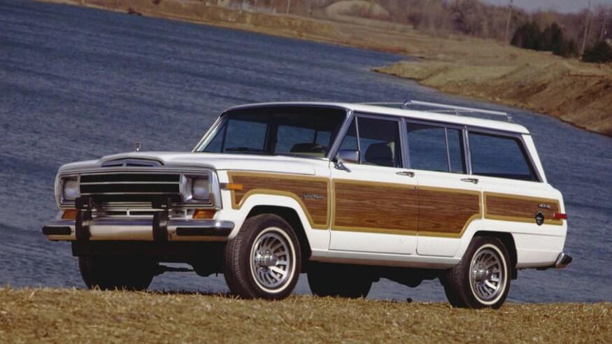 1991 Jeep Grand Wagoneer SJ