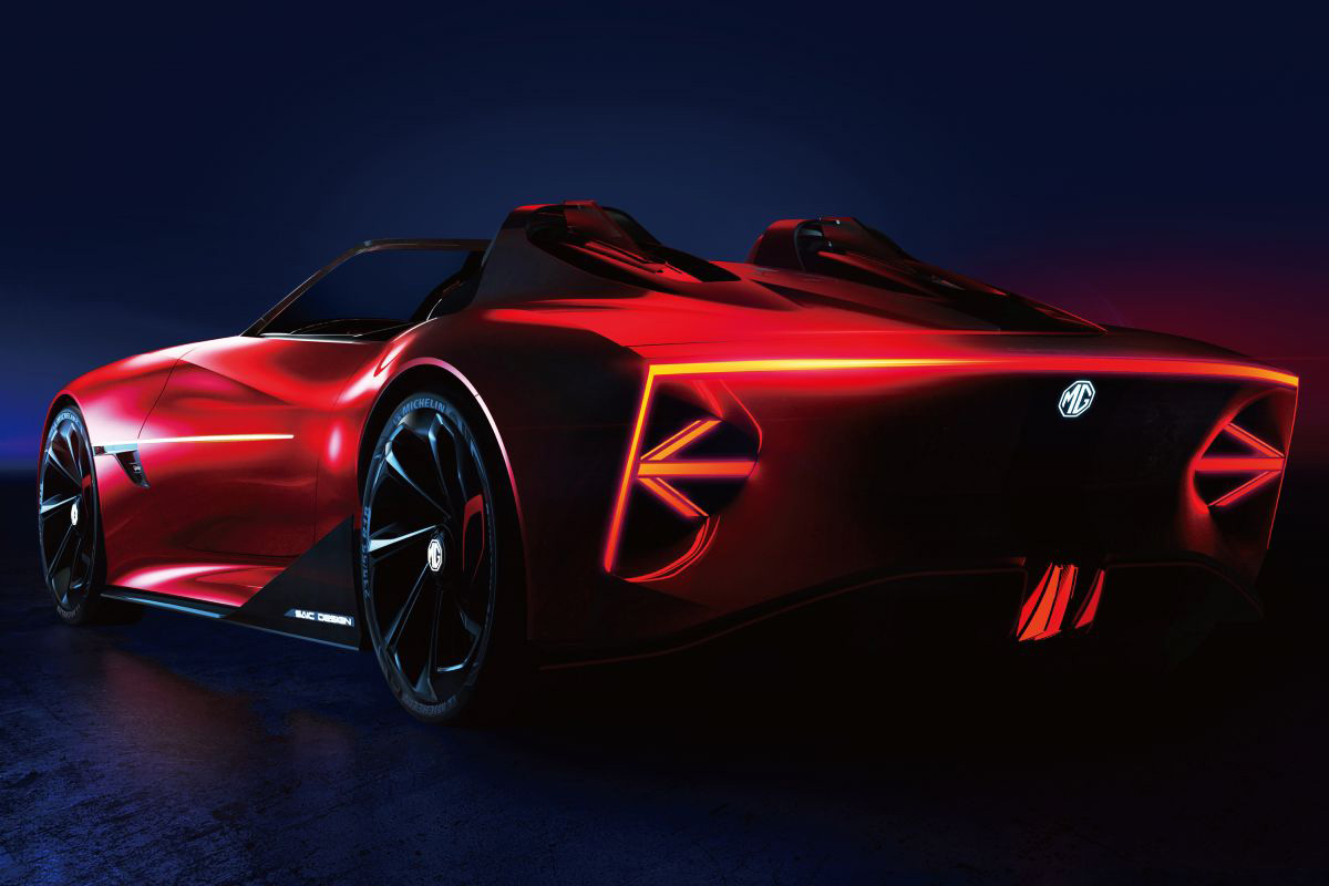 2021 MG Cyberster Roadster Concept - AutoGids