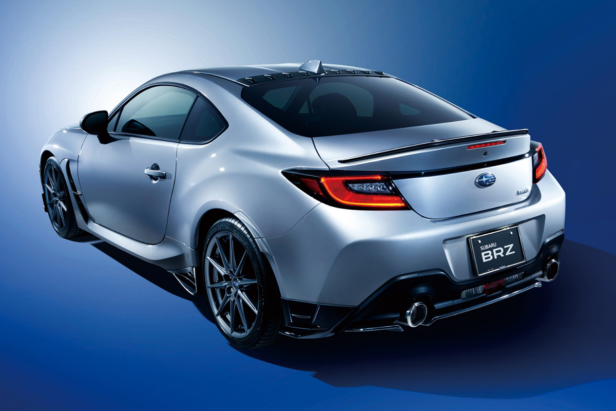 2022 Subaru BRZ STI Performance Parts