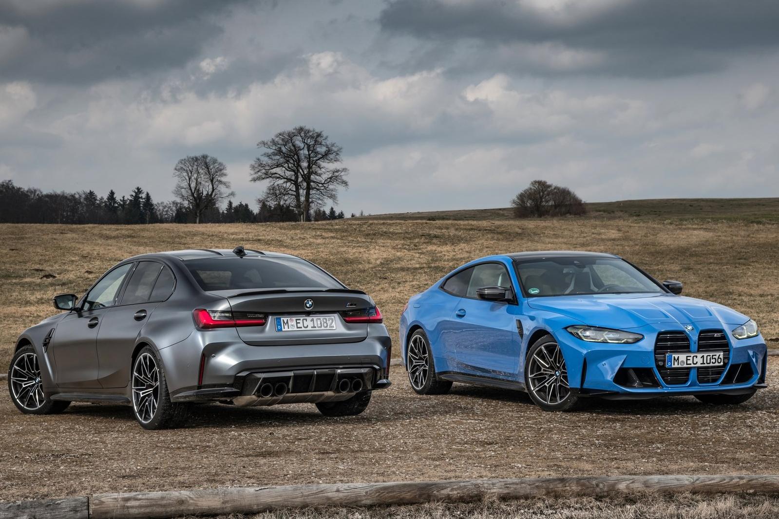 2021 BMW M3 & M4 xDrive