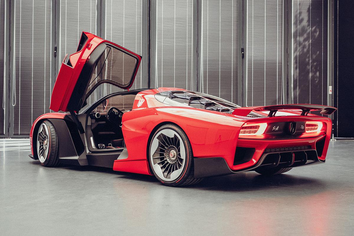 2021 Shanghai Motor Show - Hongqi S9