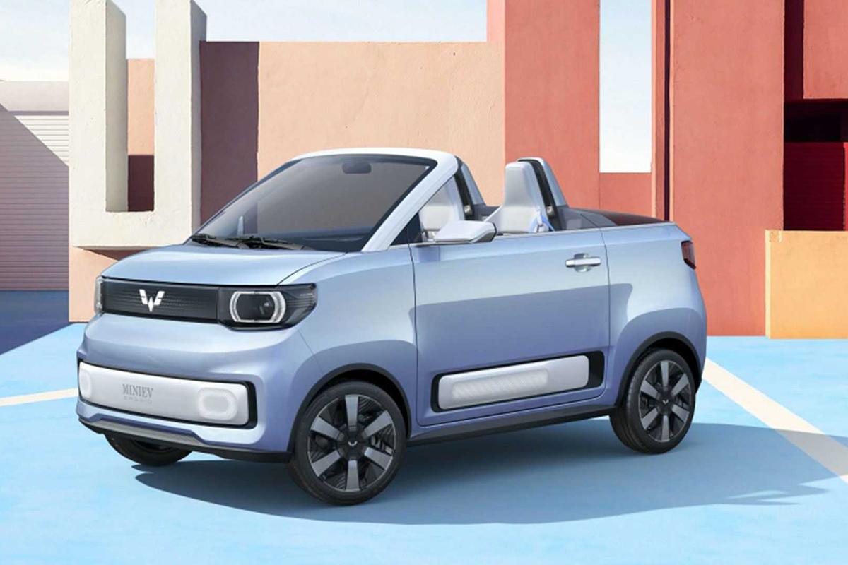 2021 Shanghai Motor Show -Mini EV Cabrio