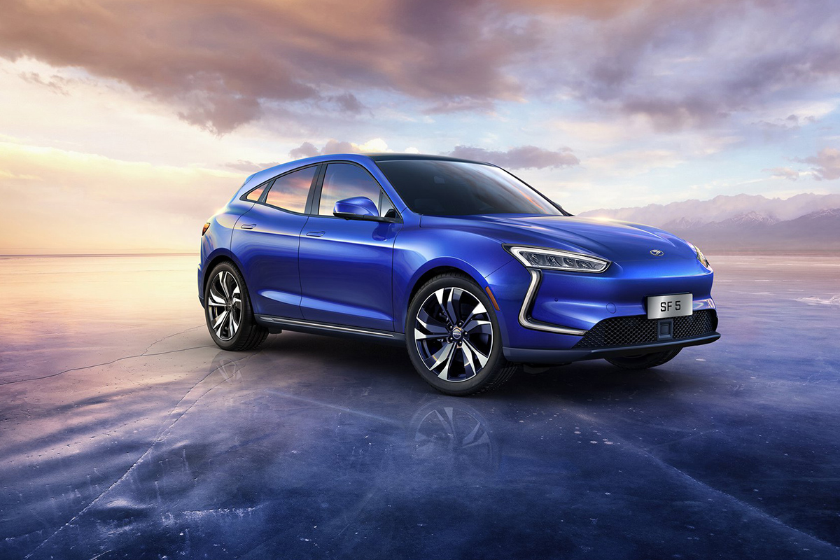 2021 Shanghai Motor Show - Seres SF5 Huawai