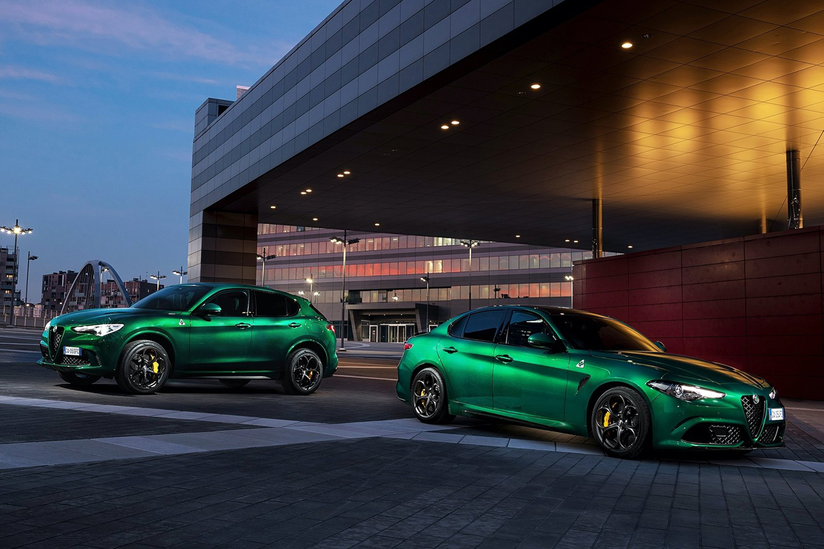 2020 Alfa Romeo Giulia & Stelvio Quadrifoglio