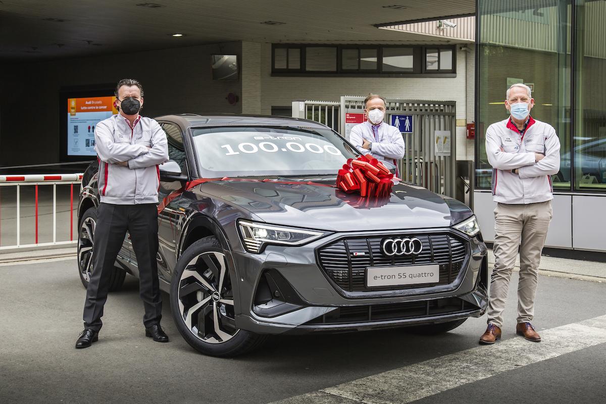 Audi Brussels: 100.000 x Audi e-Tron