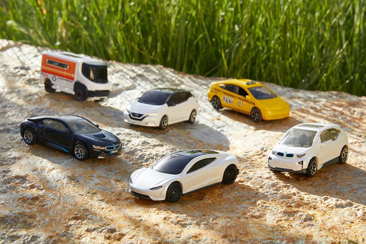 Mattel goes green with Matchbox toy cars