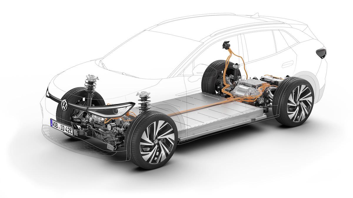 Volkswagen ID.4 GTX tech