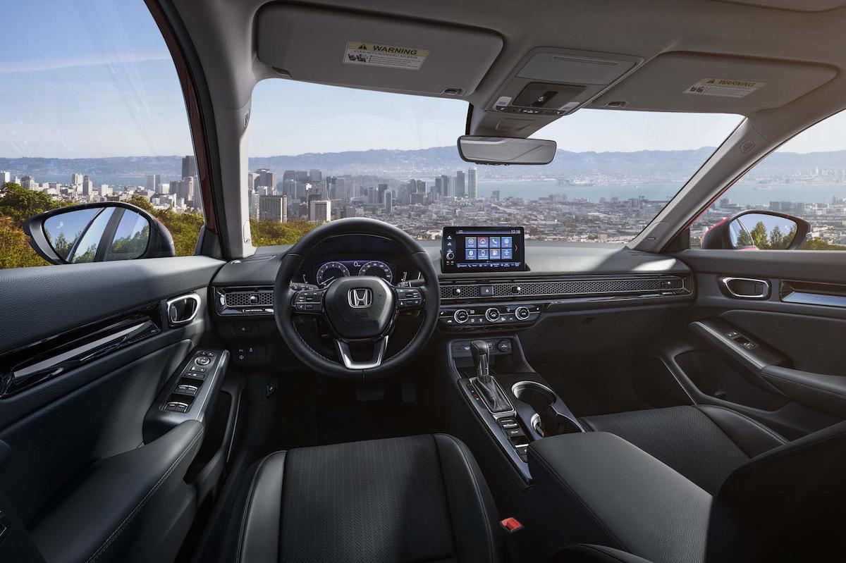 Honda Civic 2022 Sedan interior
