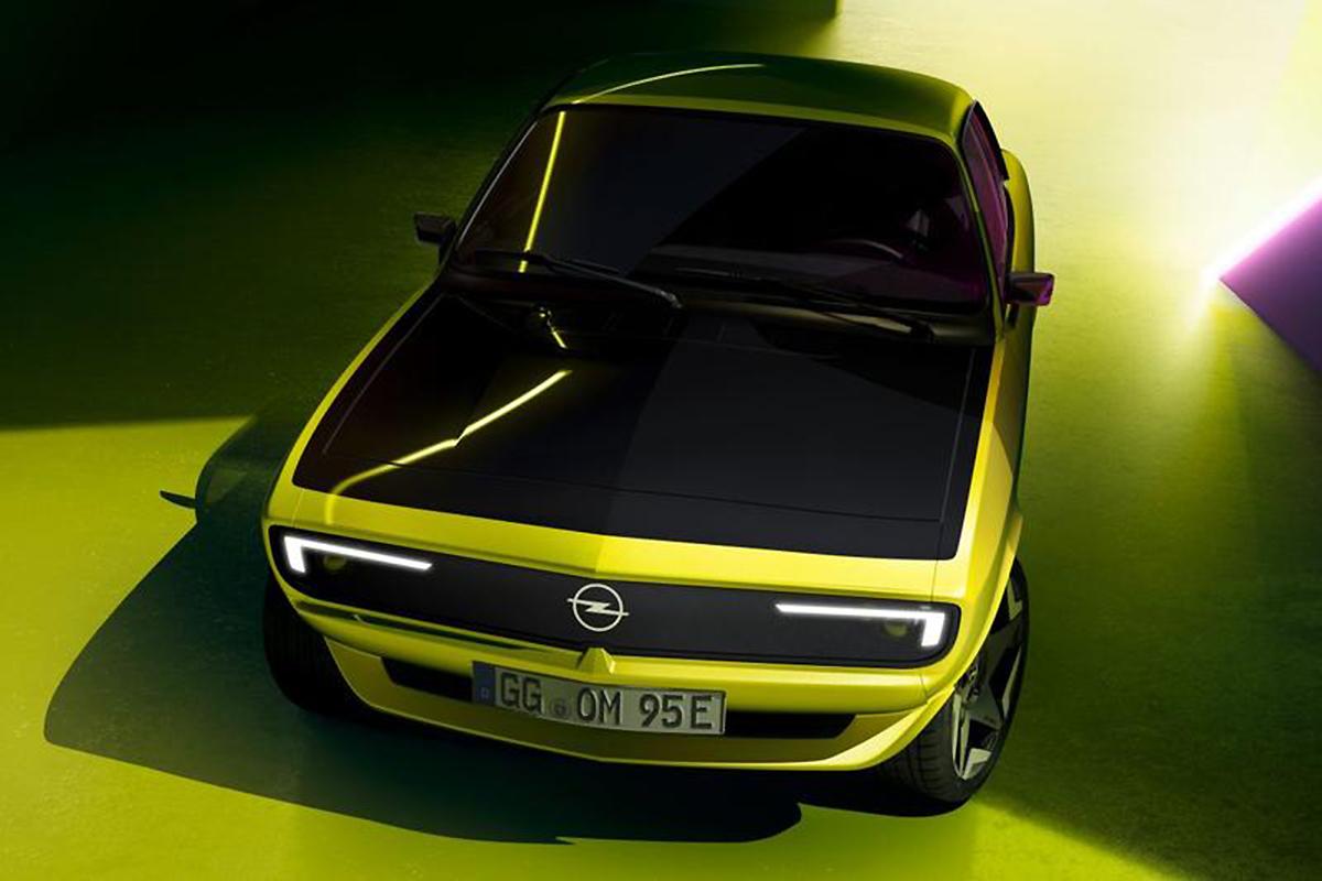 2021 Opel Manta A GSe Elektromod Concept