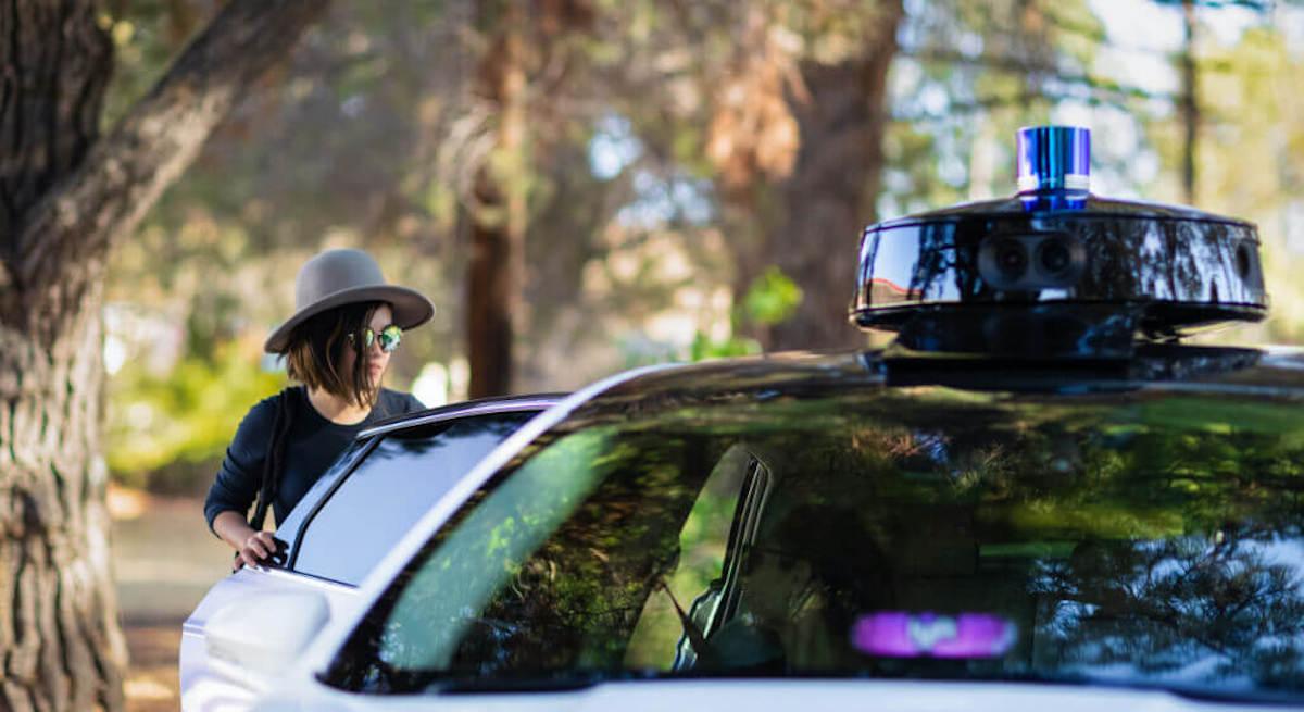 Toyota Lyft autonomous car