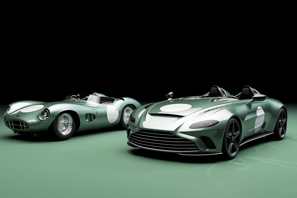 2021 Aston Martin V12 Speedster Bespoke DBR1 Specification