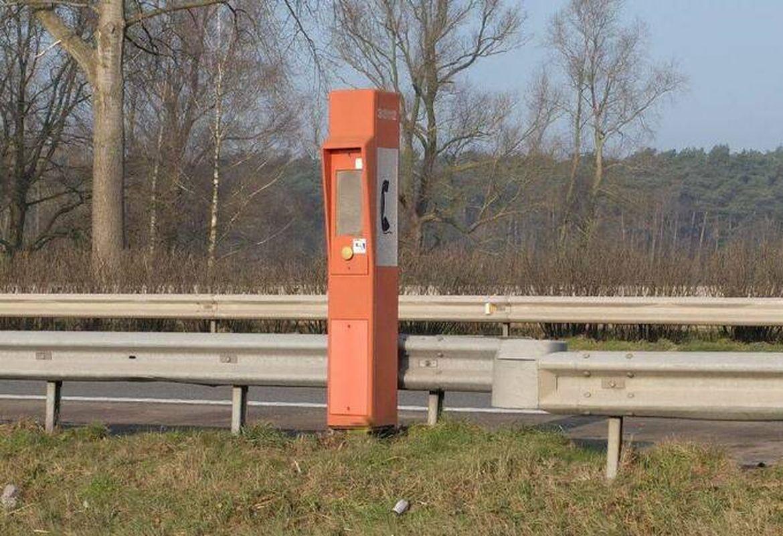 Borne d'appel autoroute Belgique fin 2017 2021