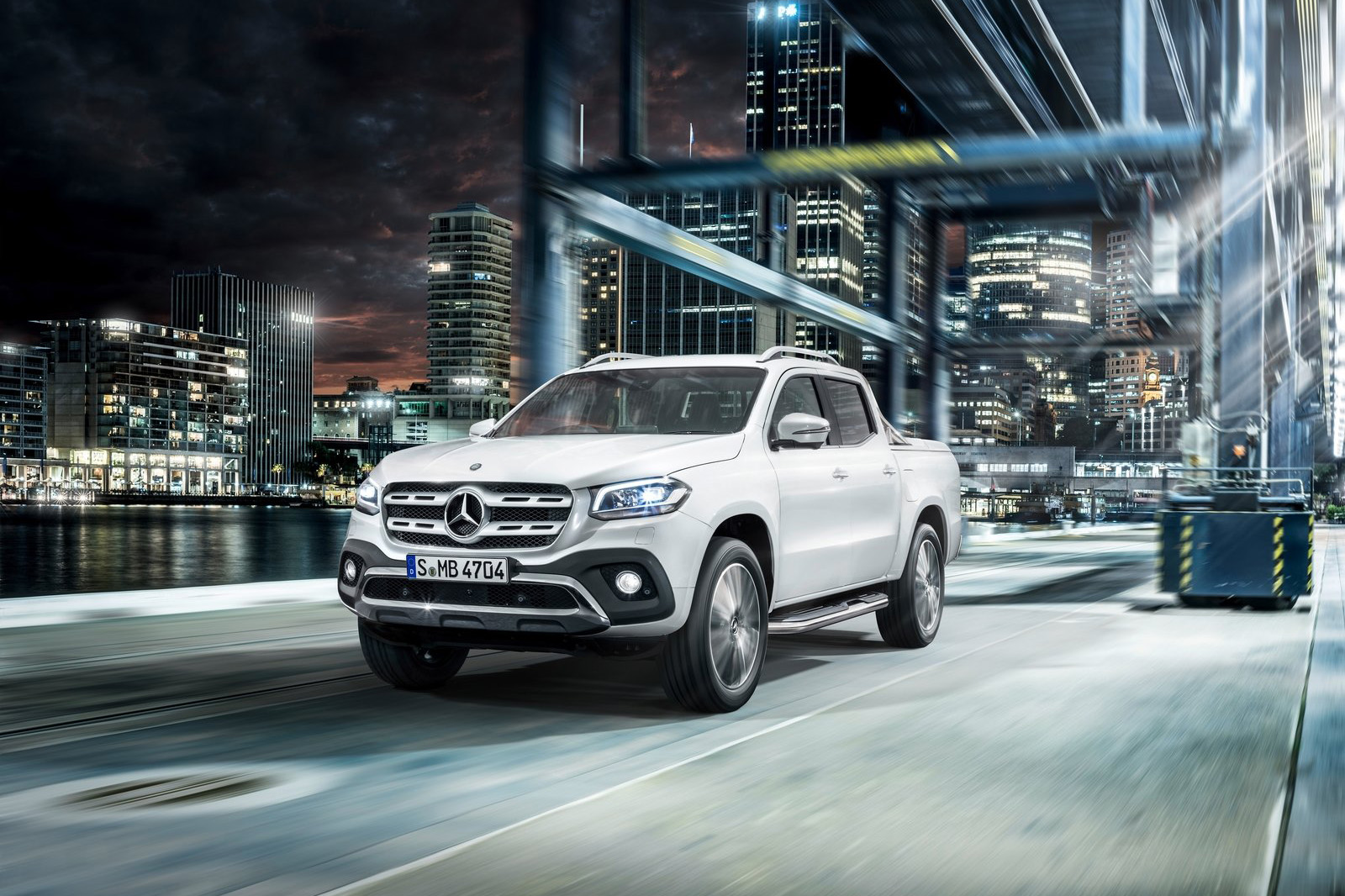 2018 Mercedes X Pick-up