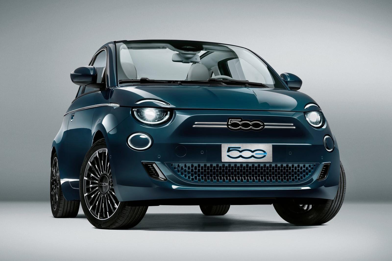 2021 Fiat 500 electric Cabrio