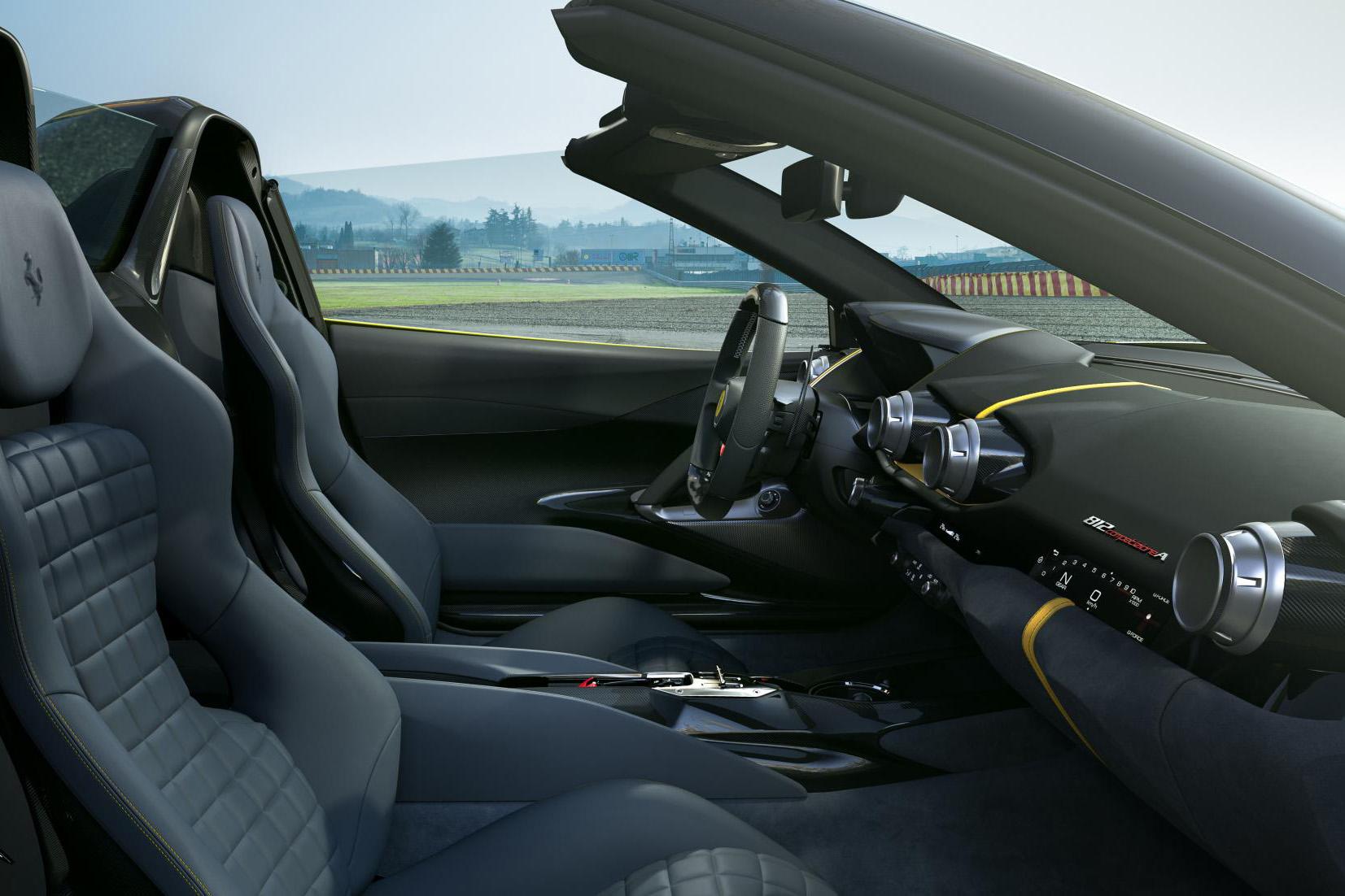 2021 Ferrari 812 Competizione Aperta