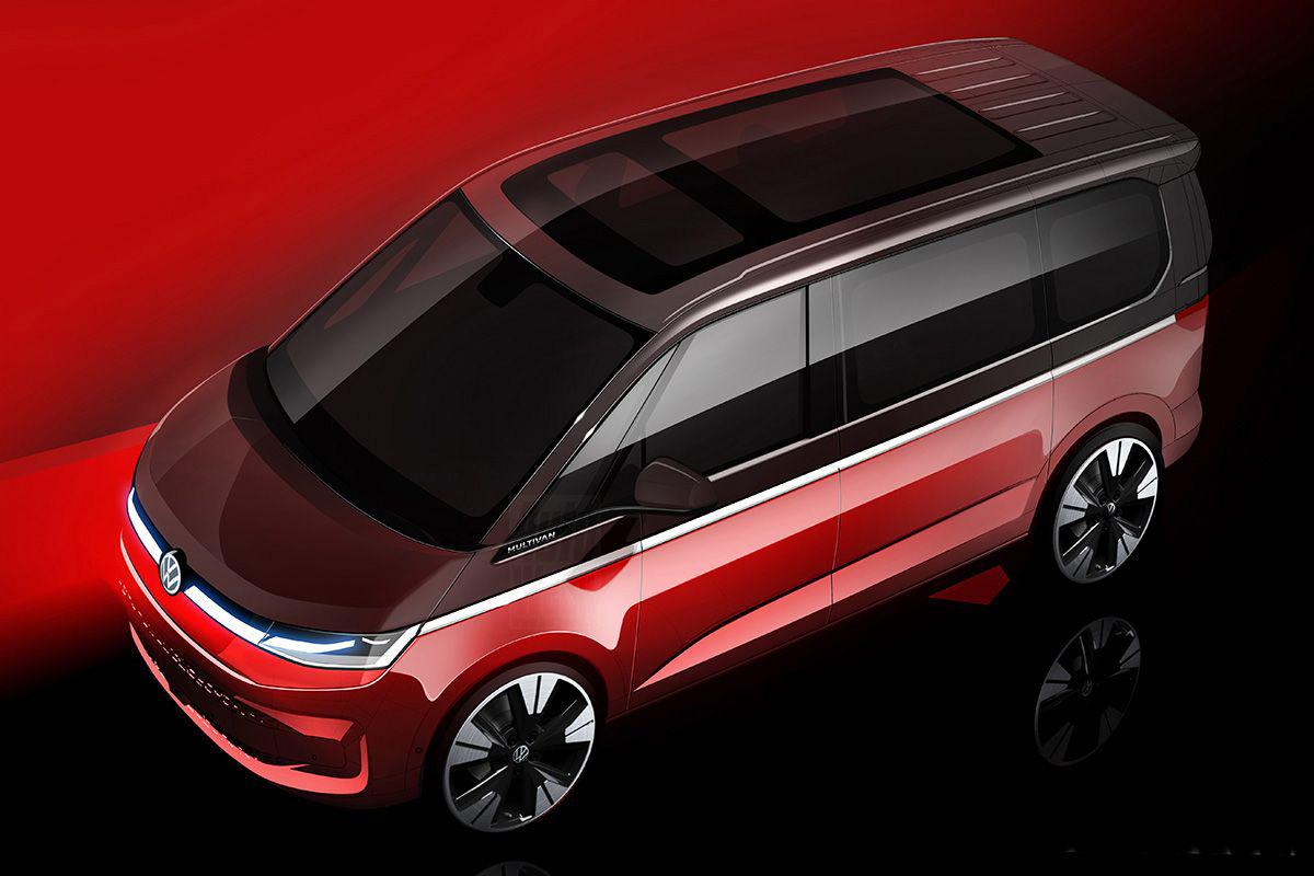 2021 VW Multivan T7
