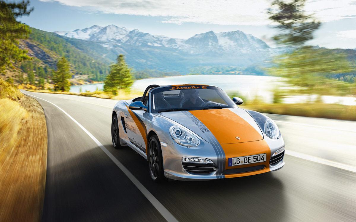 Porsche Boxster Electric