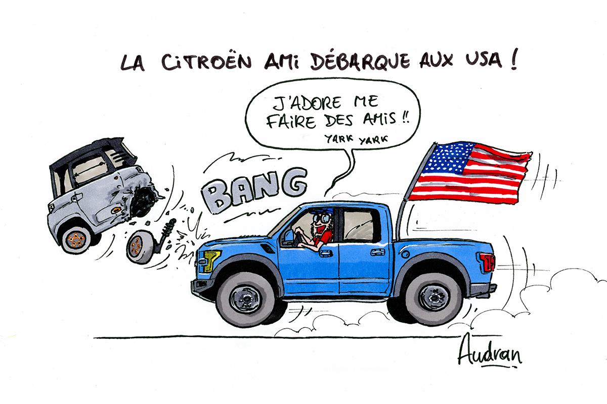 La story d'Audran - Citroën Ami 2021