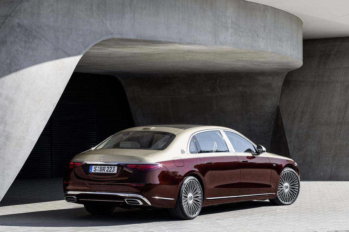2022 Mercedes-Maybach S680 V12