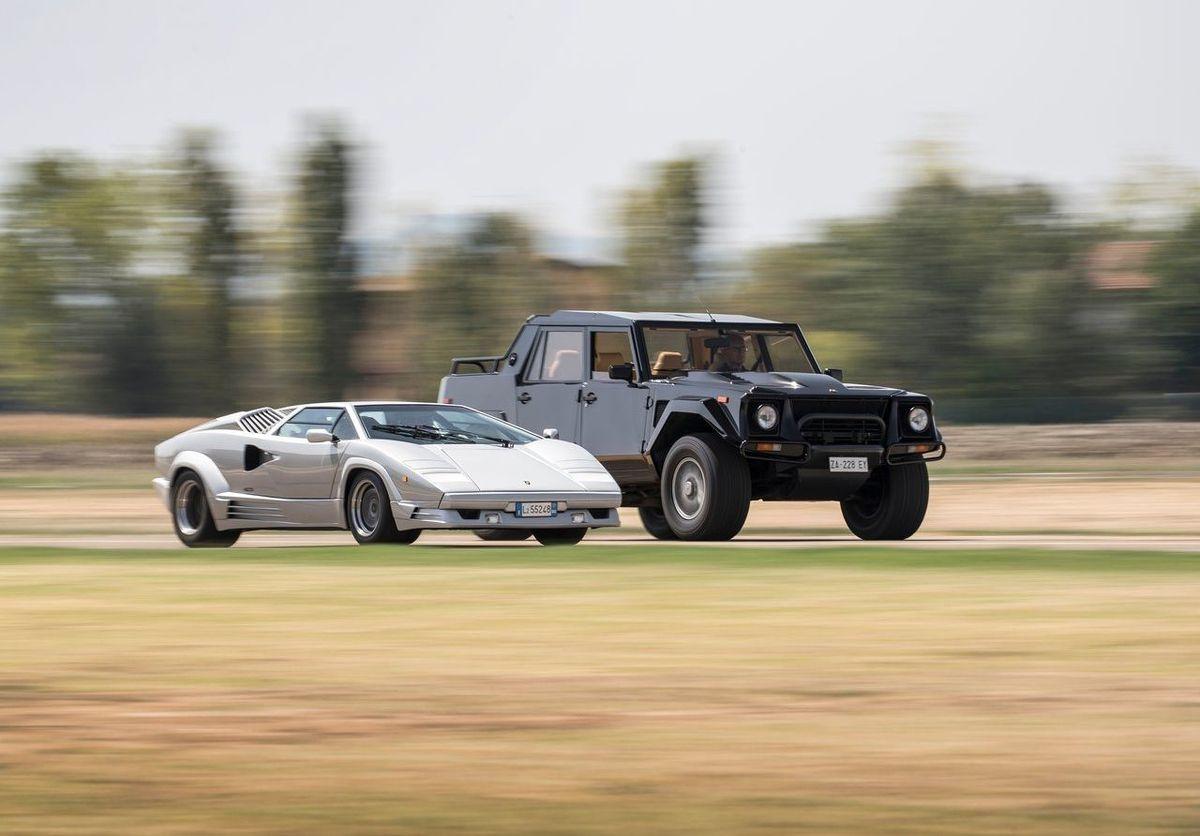 Lamborghini LM & Countach