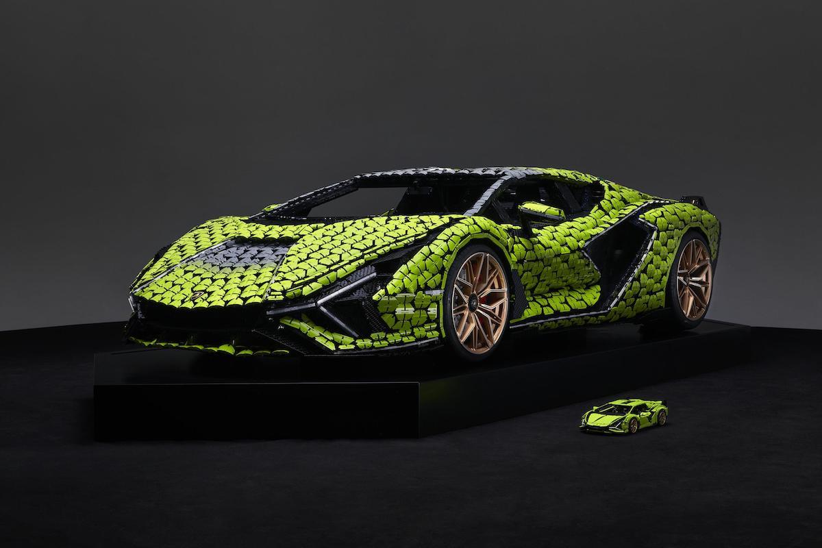 Lamborghini Sian Lego 2021