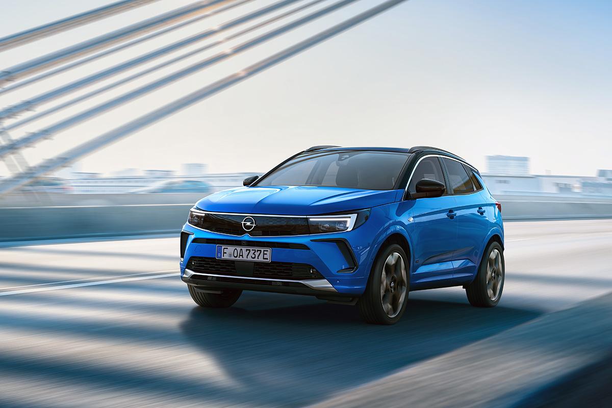 2021 Opel Grandland Facelift 2022