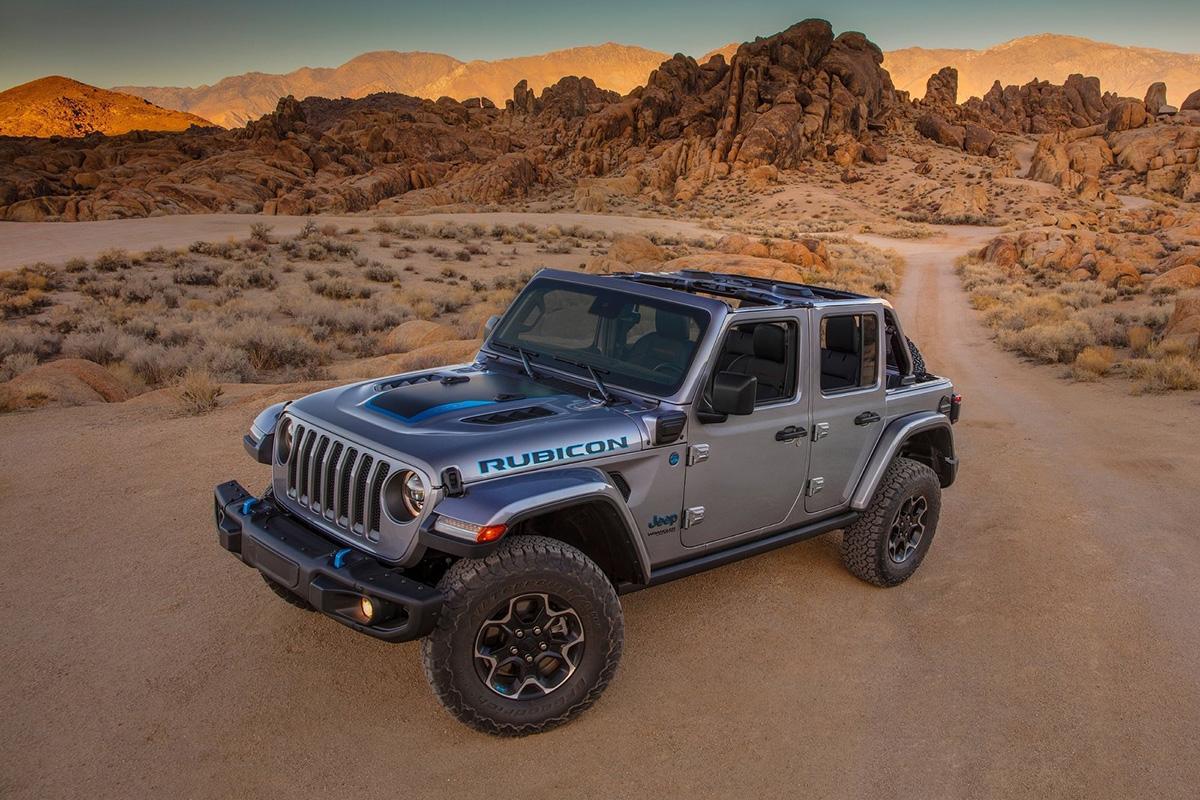 2021 Jeep Wrangler Rubicon 4xe PHEV
