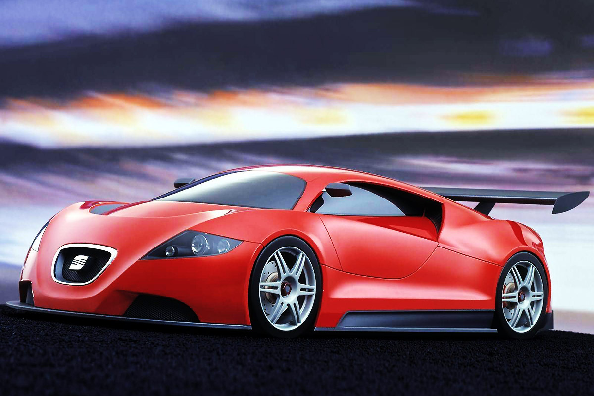 2003 Seat Cupra GT Concept