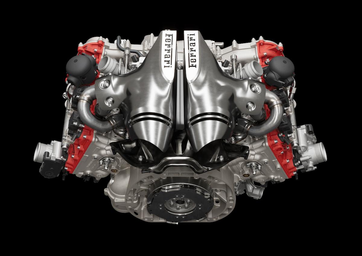Ferrari 296 GTB Engine 2022