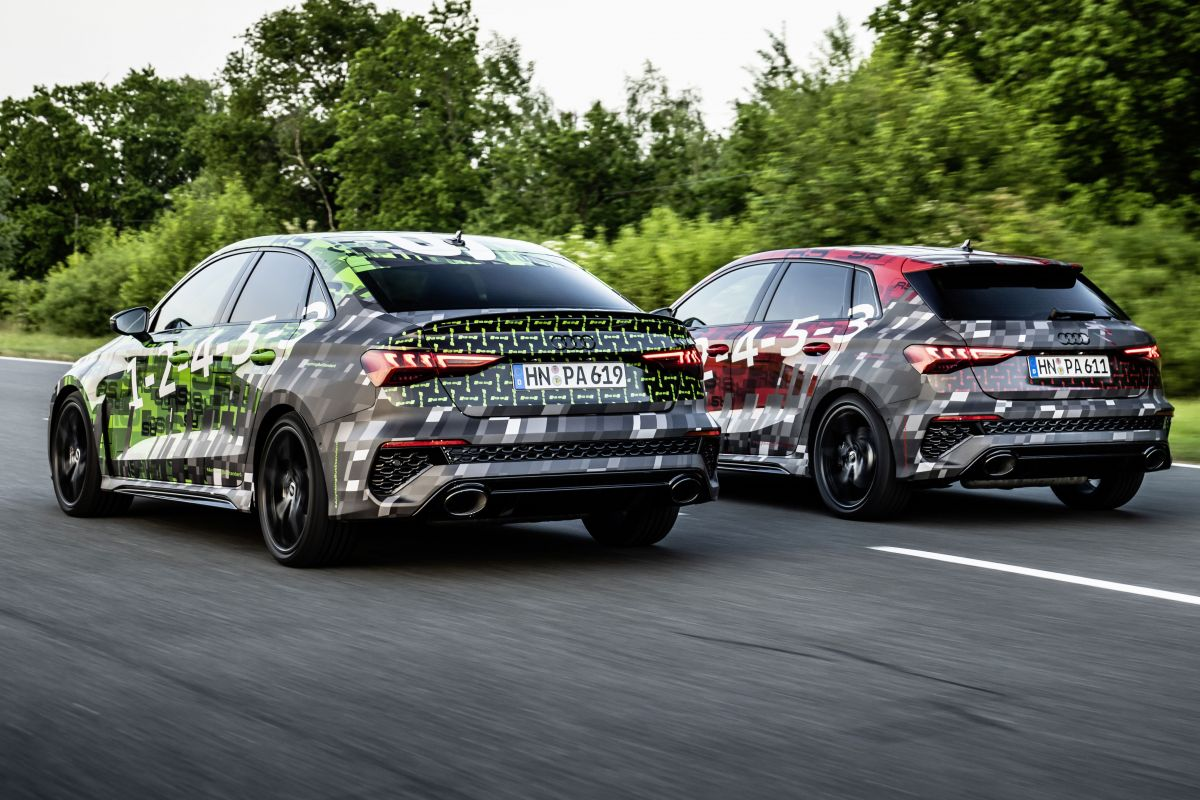 2021 Audi RS 3 Sportback & Berline