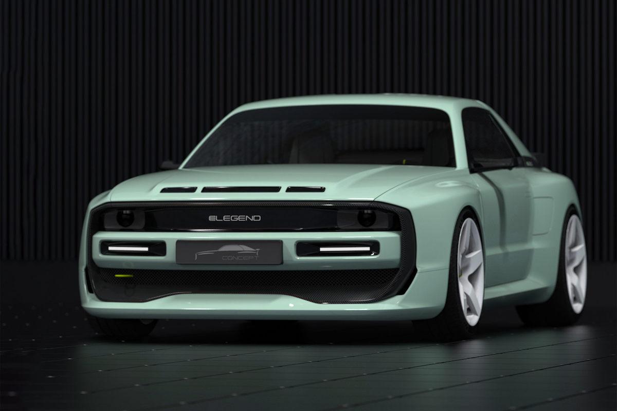 E-Legend EL1 - Audi Sport Quattro S1
