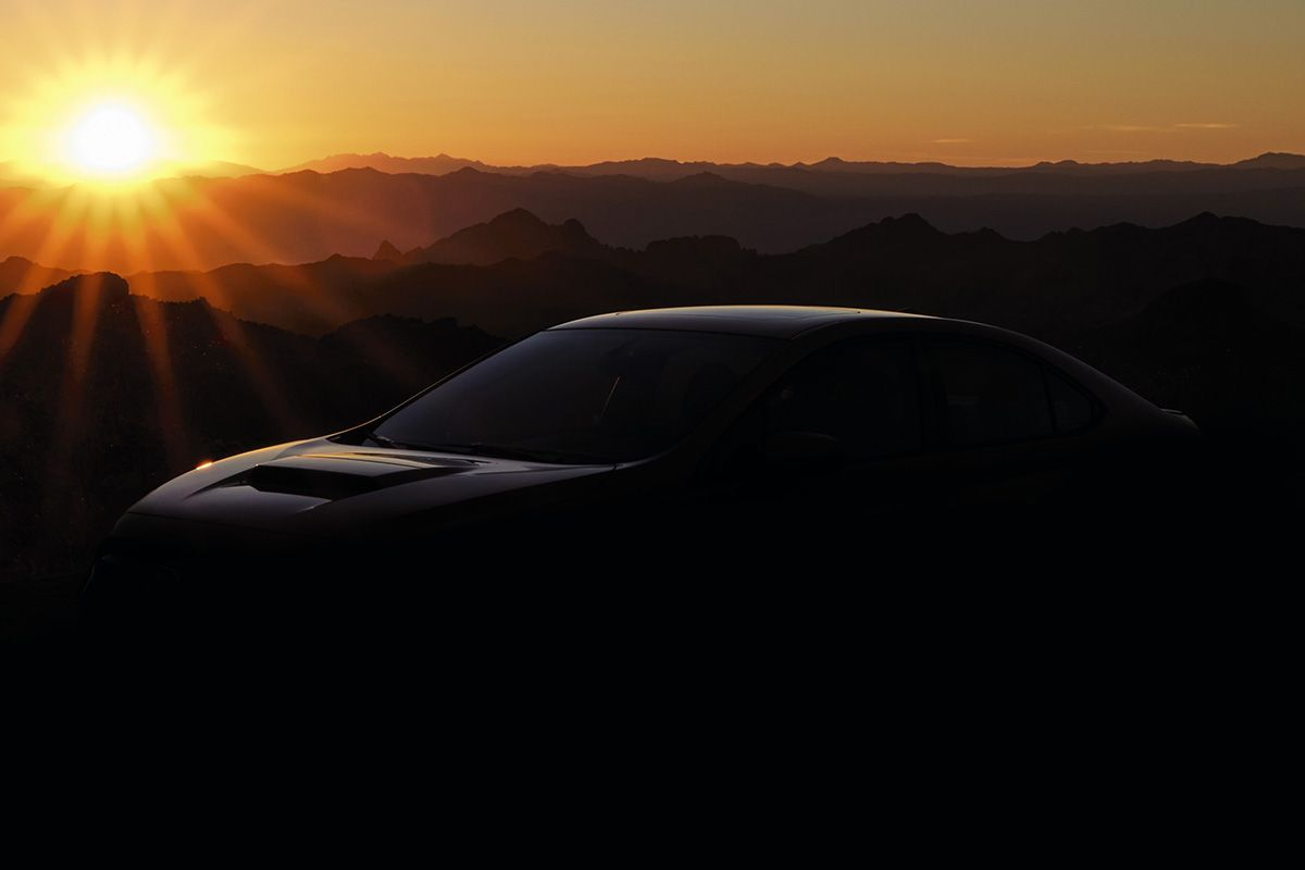 2022 Subaru WRX - teaser