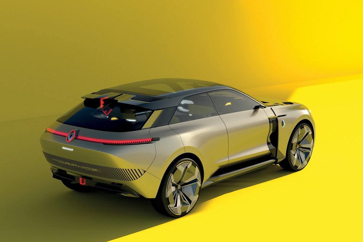 2020 Renault Morphoz EV SUV Concept