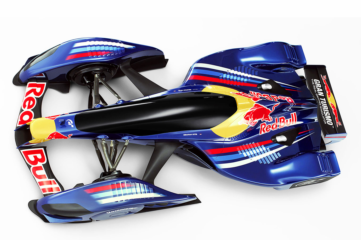 Red Bull Racing X2010 Concept