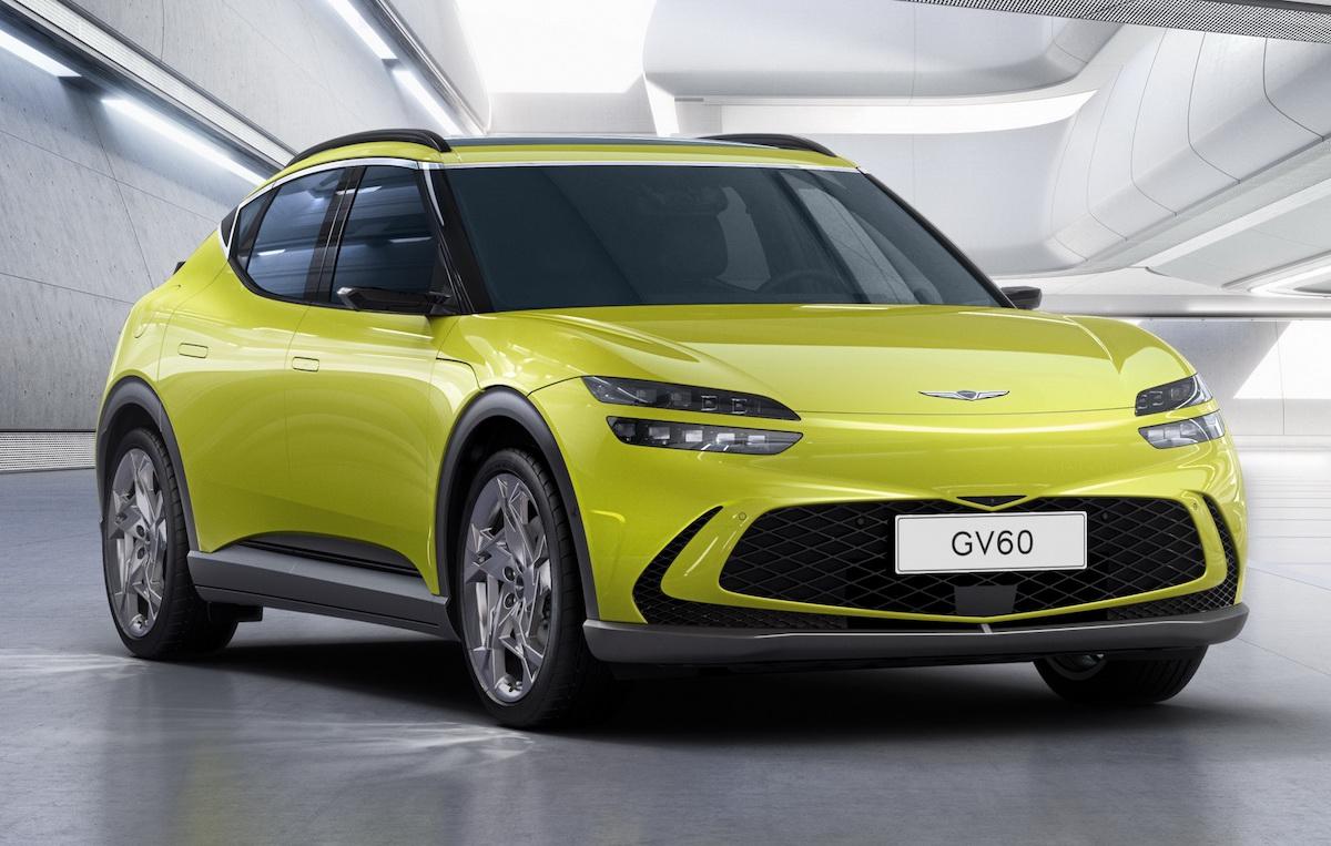 Genesis GV60 Electric crossover 2021
